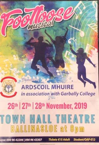 Ardscoil Mhuire -Footloose